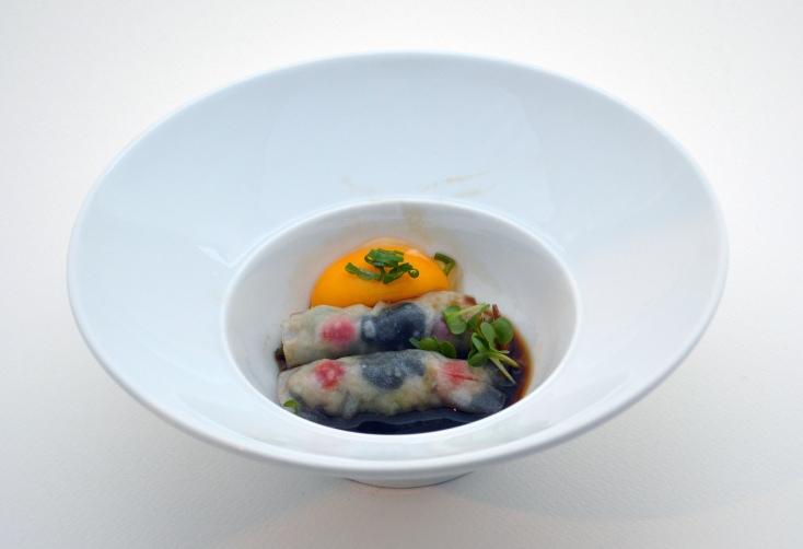 Jung Hur Pork dumpling kale quail - Copy